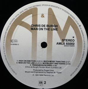 Chris de Burgh: Man On The Line (LP) - Bild 9