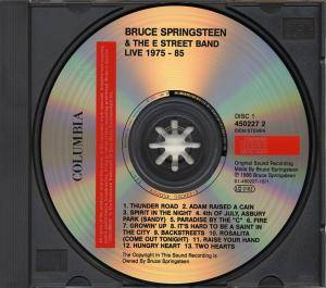 Bruce Springsteen & The E Street Band: Live/1975-85 (3-CD) - Bild 4