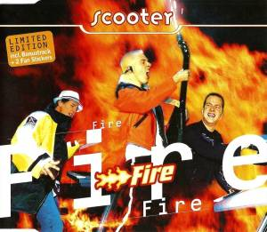 Scooter: Fire - Cover