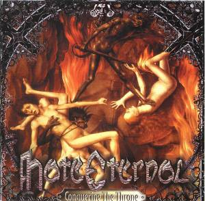 Hate Eternal: Conquering The Throne - Cover