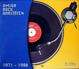 Amiga Rock Raritäten 1971-1986 - Cover
