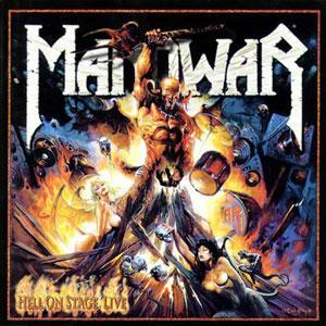 Manowar: Hell On Stage Live - Cover
