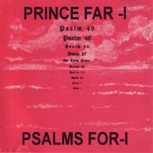 Cover - Prince Far I: Psalms For I