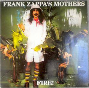 Frank Zappa & The Mothers Of Invention: Fire! (Arthur Brown In Person) - Cover