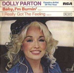 Cover - Dolly Parton: Baby I'm Burnin'