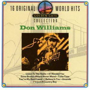 Cover - Don Williams: 16 Original World Hits - Golden Gate Collection