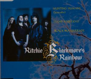 Ritchie Blackmore's Rainbow: Hunting Humans (Insatiable) - Cover