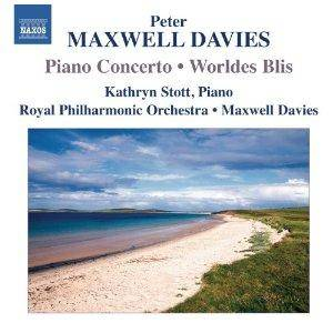 Cover - Peter Maxwell Davies: Piano Concerto / Worldes Blis