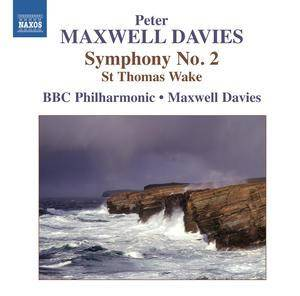 Cover - Peter Maxwell Davies: Symphony No. 2 / St Thomas Wake