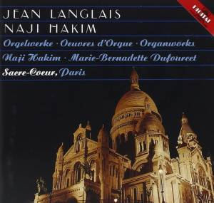 Cover - Jean Langlais: Orgelwerke · Œuvres D'orgue · Organworks