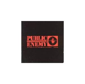 Public Enemy: Singles N' Remixes 1987-1992 - Cover