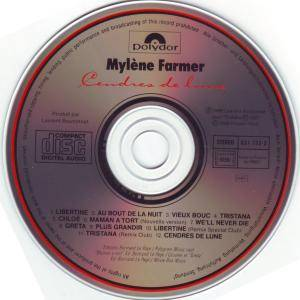 Mylène Farmer: Cendres De Lune (CD) - Bild 3