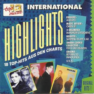 Cover - Co.Ro.: Club Top 13 - 18 Top-Hits Aus Den Charts - Highlights