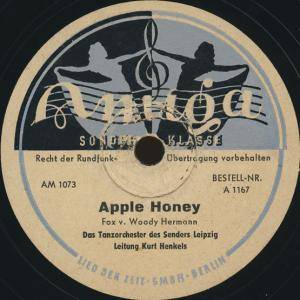 Cover - Bully Buhlan: Apple Honey / Hallo Baby Mademoiselle