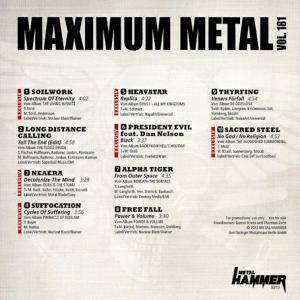 Metal Hammer - Maximum Metal Vol. 181 (CD) - Bild 2