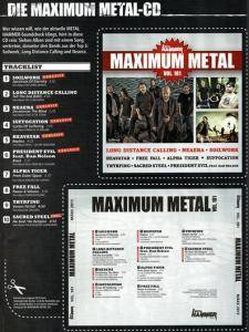 Metal Hammer - Maximum Metal Vol. 181 (CD) - Bild 9