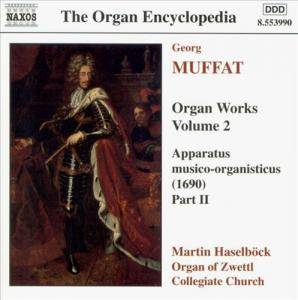 Cover - Georg Muffat: Organ Works Volume 2