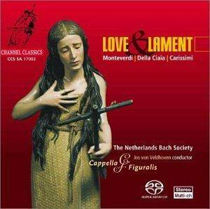 Cover - Domenico Mazzocchi: Love & Lament - Cappella & Figuralis