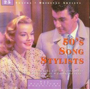 Cover - Gogi Grant: 50's Song Stylists