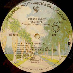 Uriah Heep: High And Mighty (LP) - Bild 3