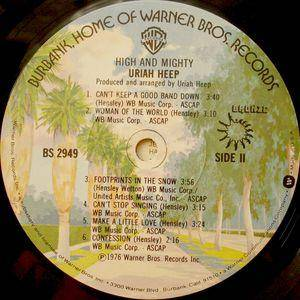 Uriah Heep: High And Mighty (LP) - Bild 4