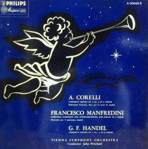 Cover - Francesco Manfredini: Concerti Grossi