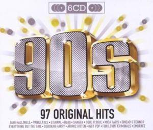Cover - Juliet Roberts: 97 Original Hits 90's