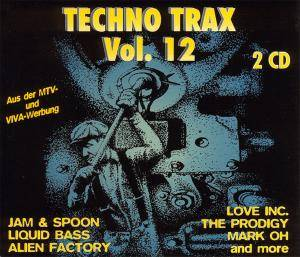Techno Trax Vol. 12 - Cover