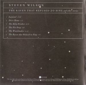 Steven Wilson: The Raven That Refused To Sing (And Other Stories) (CD) - Bild 4