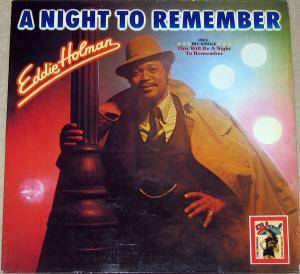 Cover - Eddie Holman: Night To Remember, A