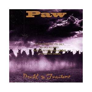 Paw: Death To Traitors - Cover
