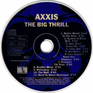 Axxis: The Big Thrill (CD) - Bild 3