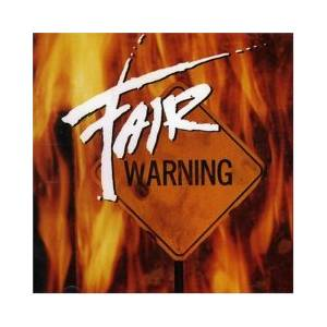 Fair Warning: Fair Warning - Cover