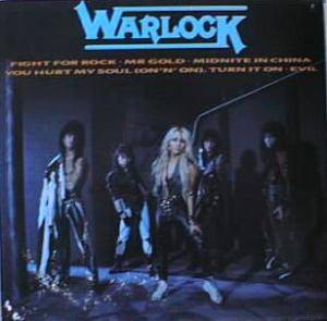 Cover - Warlock: Fight For Rock