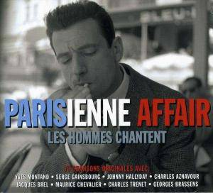 Cover - Jacques Pills: Parisienne Affair - Les Hommes Chantent