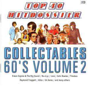 Cover - Studio Orkest Olv Tony Vos: Top 40 Hitdossier - Collectables 60's Volume 2
