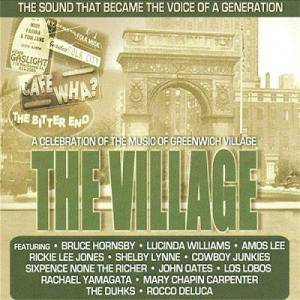Village - A Celebration Of The Music Of Greenwich Village, The - Cover