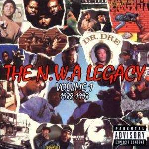N.W.A Legacy Vol 1 1988-1998, The - Cover