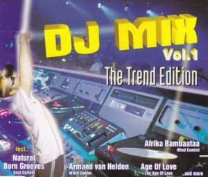 Cover - Manolo: DJ Mix Vol. 1 - The Trend Edition