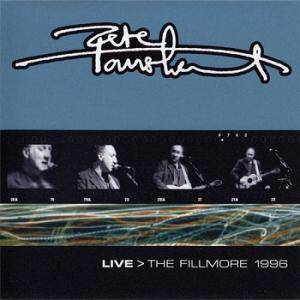 Cover - Pete Townshend: Live > The Fillmore 1996