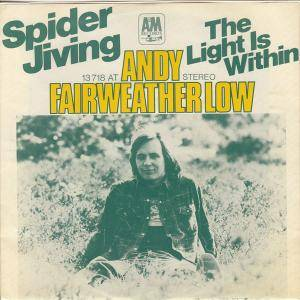 Cover - Andy Fairweather Low: Spider Jiving