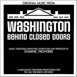 Cover - Dominic Frontiere: Washington Behind Closed Doors