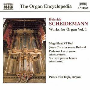 Cover - Heinrich Scheidemann: Organ Works Vol. 1