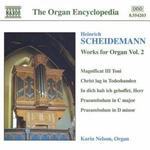Cover - Heinrich Scheidemann: Organ Works Vol. 2