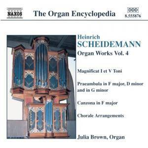 Cover - Heinrich Scheidemann: Organ Works Vol. 4