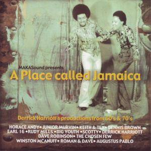 Cover - Earl Sixteen: Place Called Jamaica, A