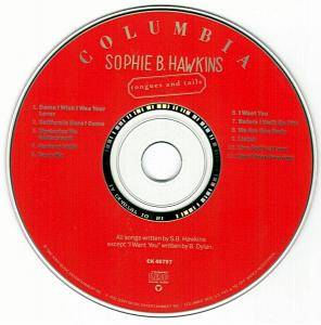 Sophie B. Hawkins: Tongues And Tails (CD) - Bild 3