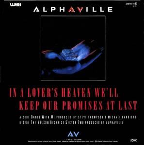 "Alphaville: Dance With Me (7"") - Bild 2"