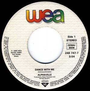 "Alphaville: Dance With Me (7"") - Bild 4"