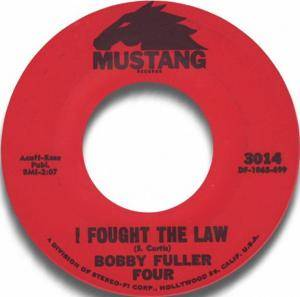 Cover - Bobby Fuller Four, The: I Fought The Law